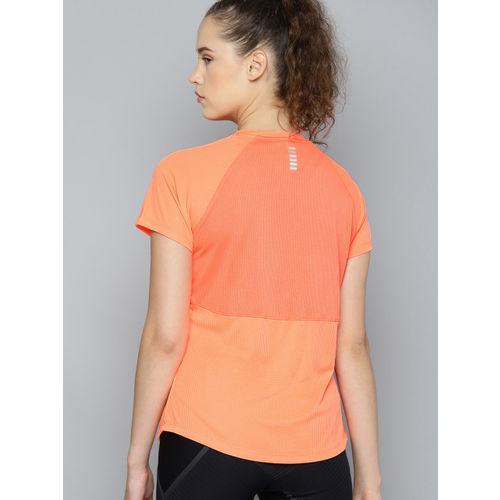 Under Armour Speed Stride Short Sleeve Womens Running Top Orange