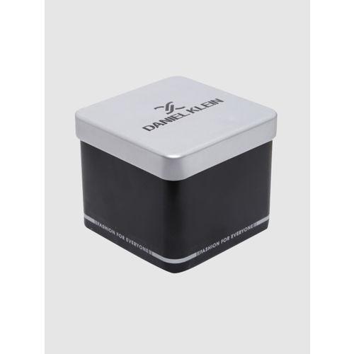 Daniel Klein Premium Men Black & White Analogue Watch DK12166-1