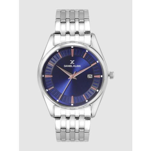 Daniel Klein Premium Men Navy Blue Analogue Watch DK12219-5