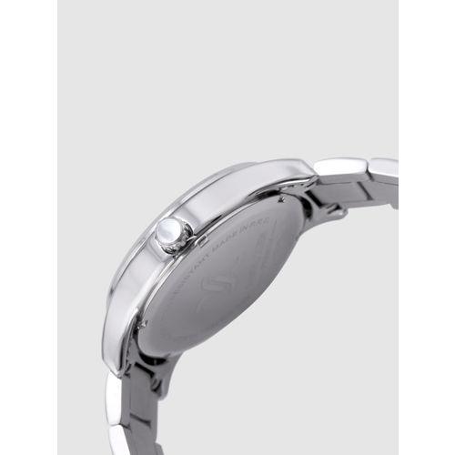 Daniel Klein Men Silver-Toned Analogue Watch DK12166-2