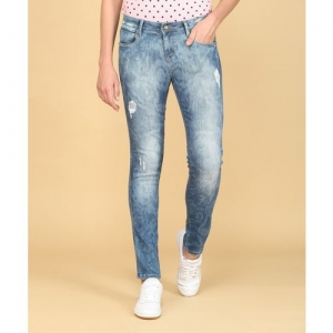 Numero Uno Skinny Women Blue Jeans
