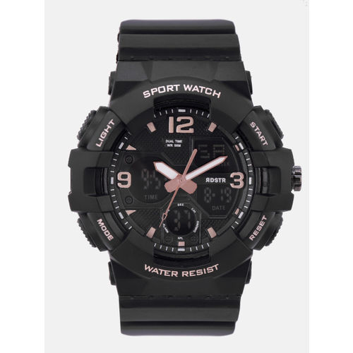 Roadster Men Black Analogue and Digital Multi Function Watch MFB-PN-OS-AD1711