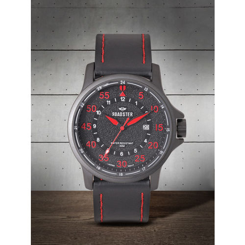 Roadster Men Charcoal Grey Analogue Watch MFB-PN-NF9076