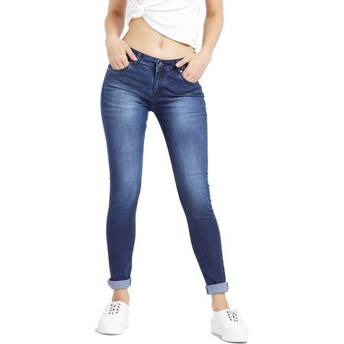Devis Skinny Women Dark Blue Jeans