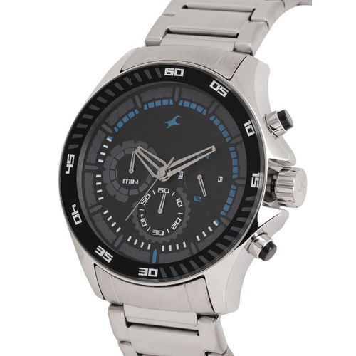 Fastrack Men Black Analogue Watch NK3072SM03_OR