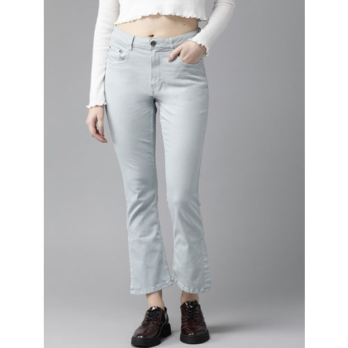 Roadster Women Blue Regular Fit Mid-Rise Clean Look Stretchable Jeans