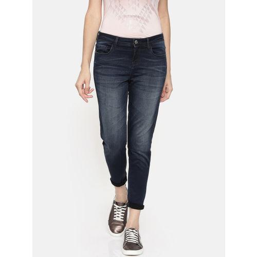 Jealous 21 Women Blue Hottie Ankle Skinny Fit Mid-Rise Clean Look Jeans