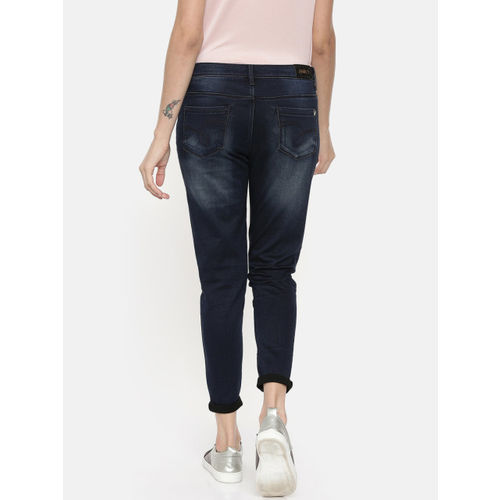 Jealous 21 Women Blue Hottie Ankle Skinny Fit Mid-Rise Clean Look Jeans