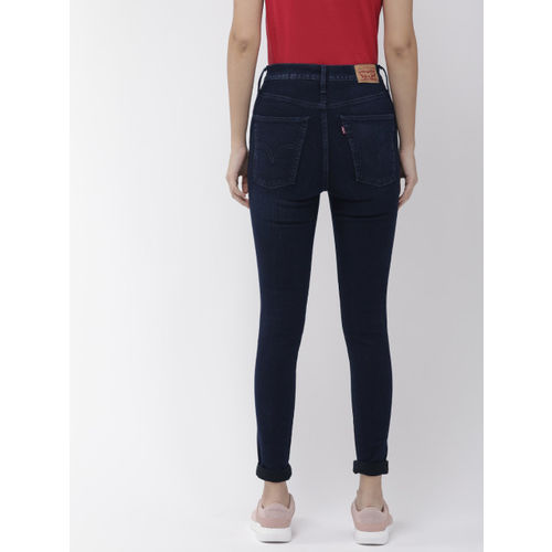 Levis Women Blue Skinny Fit Mile High Super Skinny Clean Look Stretchable Jeans