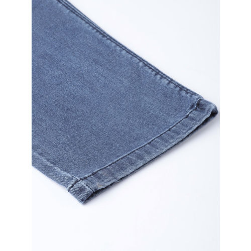 aLL Women Blue Washed Regular Fit Mid-Rise Clean Look Stretchable Jeans
