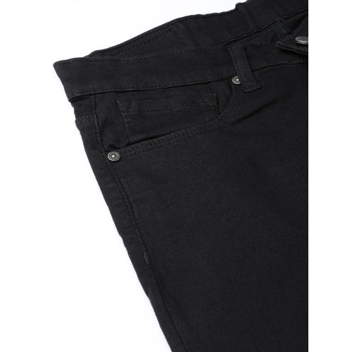 SPYKAR Women Black Selena Skinny Fit Low-Rise Clean Look Stretchable Jeans