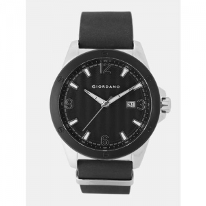 GIORDANO Men Black Analogue Watch 1756-01