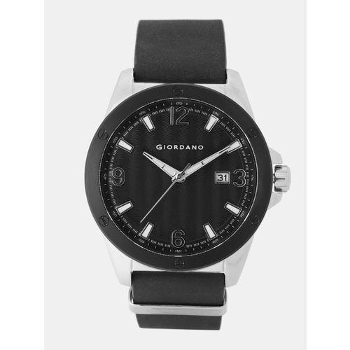 GIORDANO Men Black Analogue Watch 1756-01