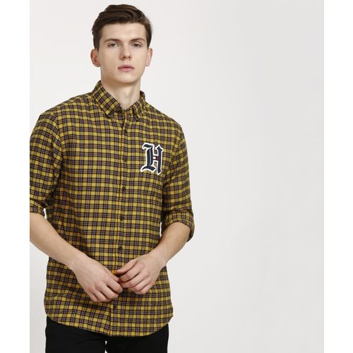 Tommy Hilfiger Men Checkered Casual Multicolor Shirt