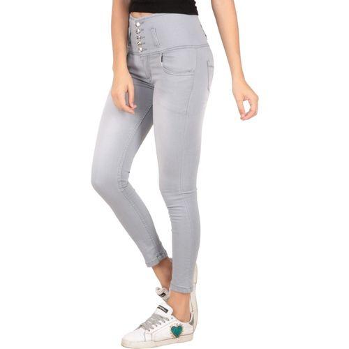 RESBO Slim Women Grey Jeans