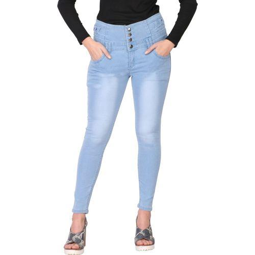 SIJON Slim Women Light Blue Jeans
