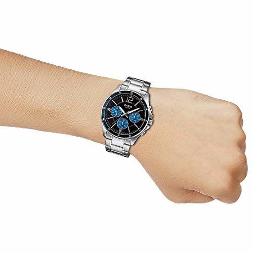 Casio Analog Black Dial Men's Watch-MTP-1374HD-2AVIF (A1646)