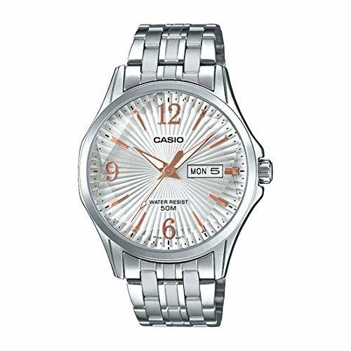 Casio Analog White Dial Men's Watch-MTP-E120DY-7AVDF (A1558)
