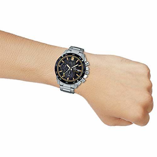 Casio Analog Black Dial Men's Watch-EFS-S500DB-1BVUDF (EX465)
