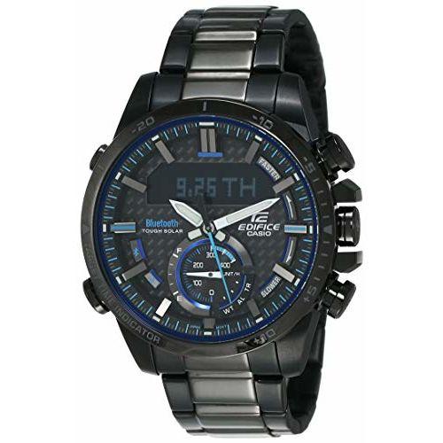 Casio Analog-Digital Black Dial Men's Watch-ECB-800DC-1ADR (EX452)