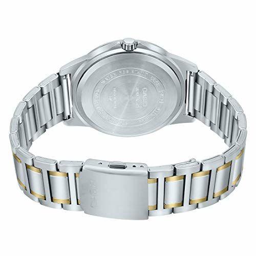 Casio Analog Black Dial Men's Watch-MTP-E318SG-1BVDF (A1525)