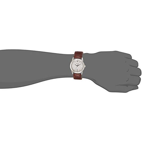 Sonata Analog Silver Dial Men's Watch - 7100SL02