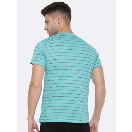 Force NXT Men Pack Of 2 Striped Round Neck T-shirts