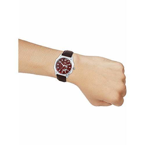 Watch Me Red Leather Men's Watch WM-063kwrd