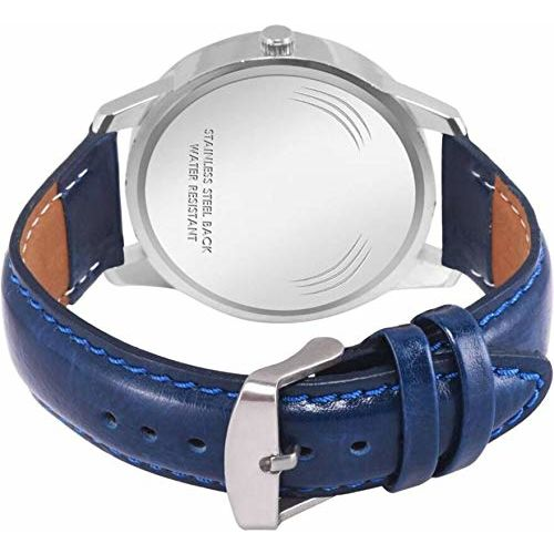 Generic MAHIT Analogue White dial Watch for Mens & Boys