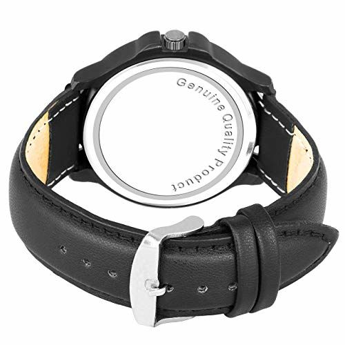 Generic Black Leather Men's Watch
