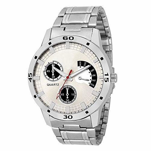 Generic Quartz Silver Dial Men's Watch