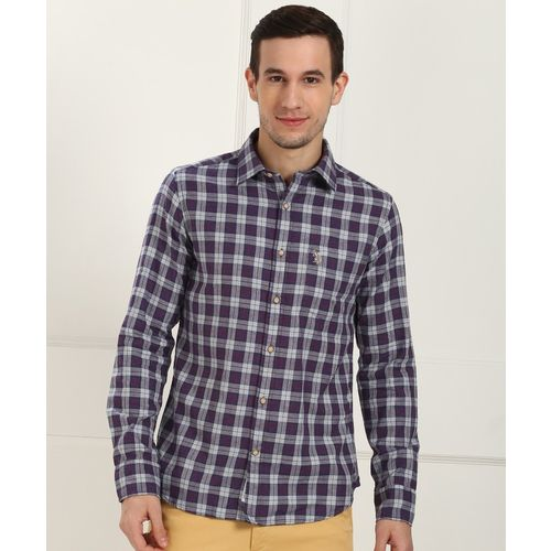 U.S. Polo Assn Men Checkered Casual Multicolor Shirt