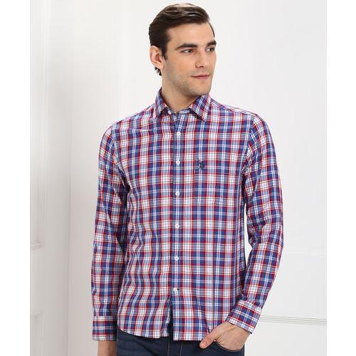 U.S. Polo Assn Men Checkered Casual Multicolor Shirt