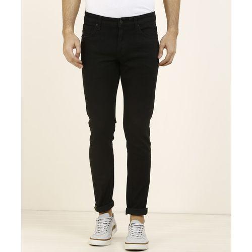 Indian Terrain Skinny Men Black Jeans