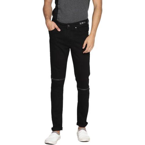 KULTPRIT Skinny Men Black Jeans