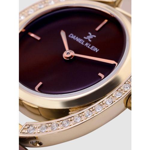 Daniel Klein Premium Women Burgundy Analogue Watch DK12194-7