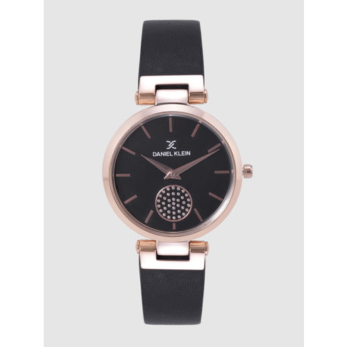 Daniel Klein Premium Women Black Analogue Watch DK12202-2