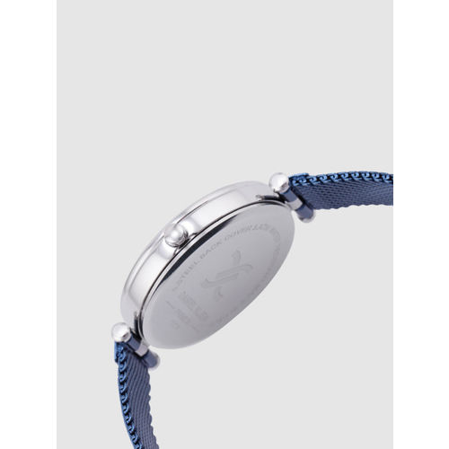 Daniel Klein Premium Women White & Navy Blue Analogue Watch DK12178-7