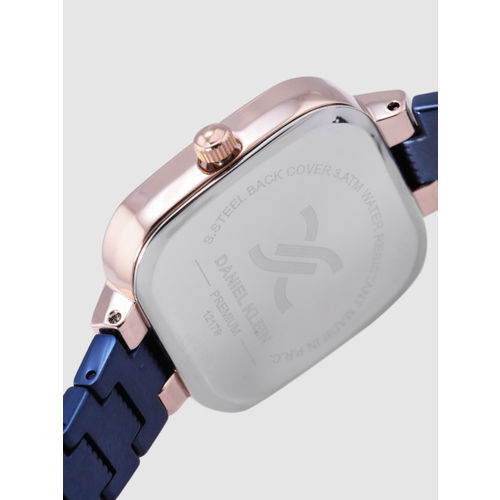 Daniel Klein Premium Women Navy Blue Analogue Watch DK12179-5