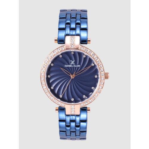 Daniel Klein Premium Women Navy Blue Analogue Watch DK12183-6