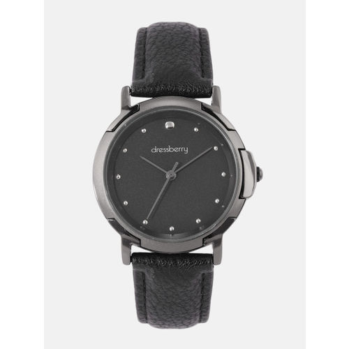 DressBerry Women Black Analogue Watch MFB-PN-SNT-G06