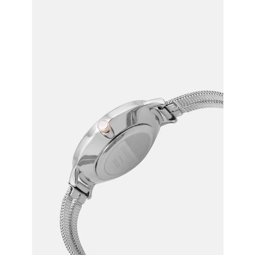 DressBerry Women Silver-Toned Analogue Watch MFB-PN-PFDK2566