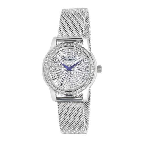 GIORDANO Women Silver-Toned Analogue Watch