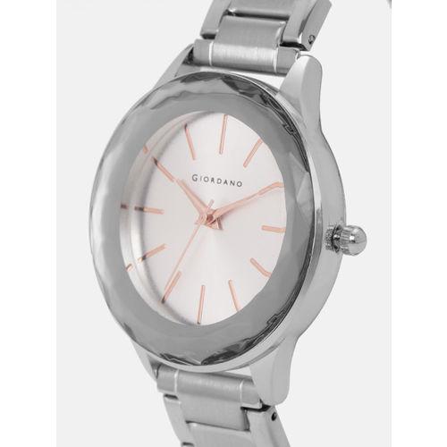 GIORDANO Women Silver-Toned Analogue Watch C2171-33