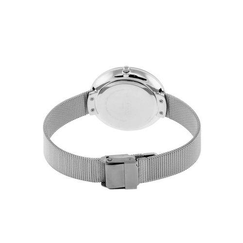 GIORDANO Women Silver-Toned Analogue Watch C2118-11