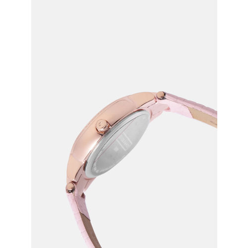GIORDANO Women Peach-Coloured Analogue Watch 2890-04