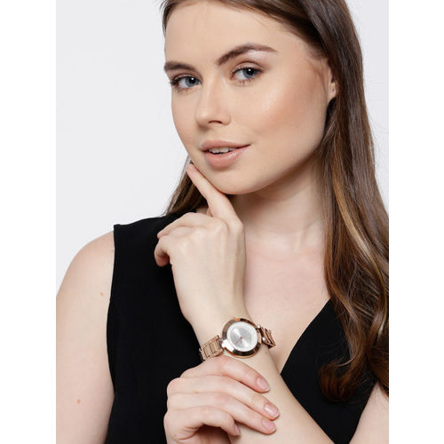 GIORDANO Women Silver-Toned Analogue Watch 2975-33