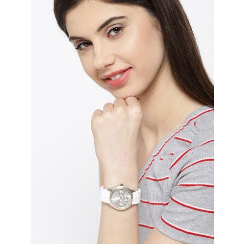 GIORDANO Women Silver-Toned Analogue Watch 2983-04