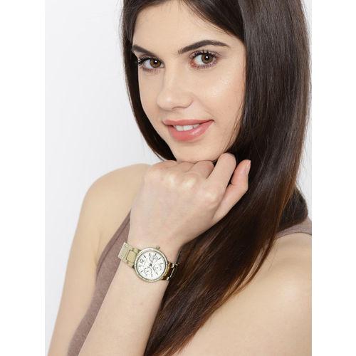 GIORDANO Women Silver-Toned Analogue Watch 2890-33