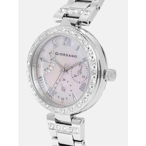 GIORDANO Women Silver-Toned Analogue Watch 2959-22